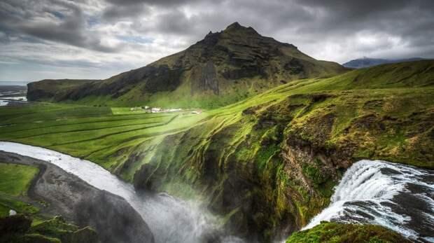 Природа в Исландии