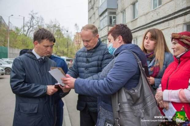 Во Владивостоке продолжают проверять работу управляющих компаний