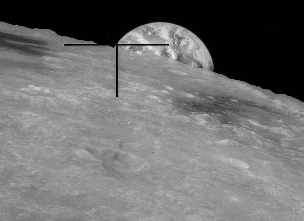 Горизонт на Луне