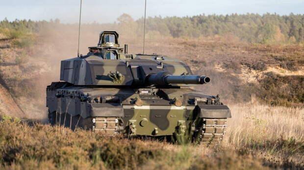 Великобритания впервые в XXI веке примет на вооружение новые танки