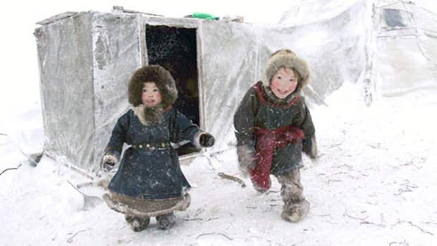 Маленькие кочевники. Как воспитываются и обучаются ненецкие дети