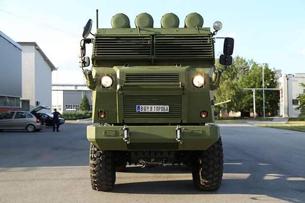 Новая сербская модульная РСЗО «Шумадиjа»