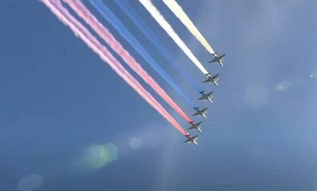 Воздушная часть парада Победы пройдет над многими городами России