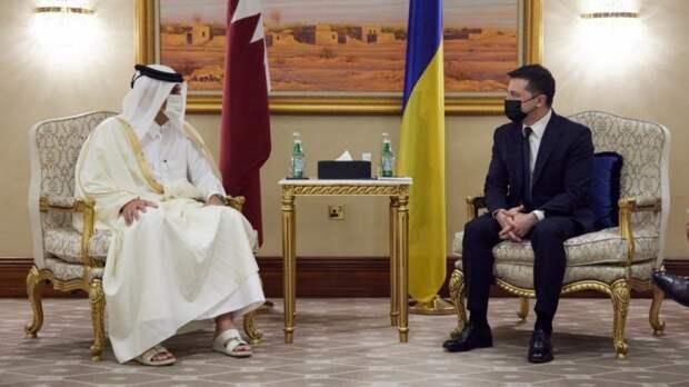 Делегацию Зеленского пристыдили за нарушение этикета в Катаре