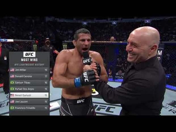 UFC Russia вырезал слова Бенеила Дариуша про пострадавших от марксистской идеологии
