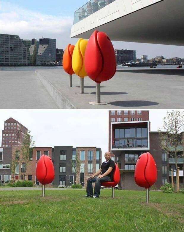 Необычные сидения