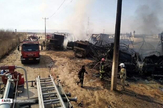 """Последствия взрывов на КПП """"Ислам-Кала"""""""