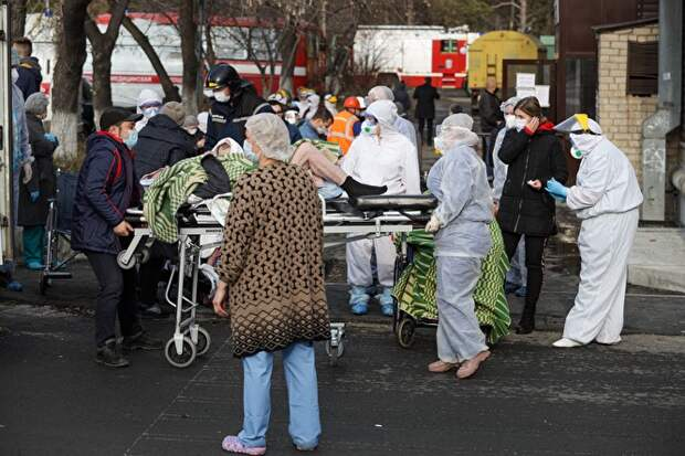 ВГКБ-2 Челябинска, как сообщили власти, было больше всего тяжелых пациентов