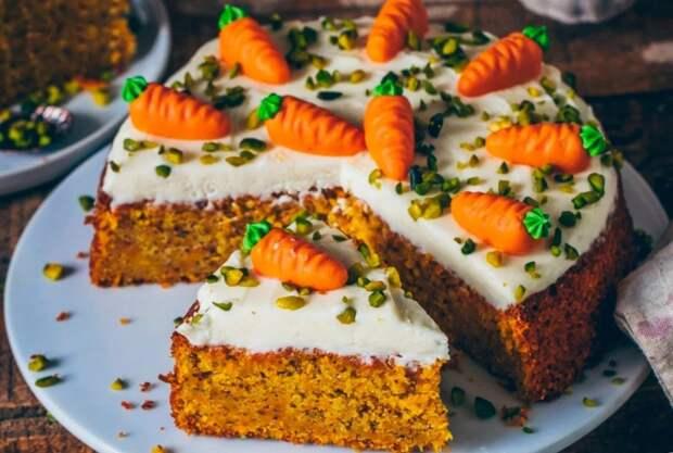 Этот рецепт морковного пирога удивит вас своей простотой и вкусом (готовится за 5 минут и без муки). Съелся буквально за час