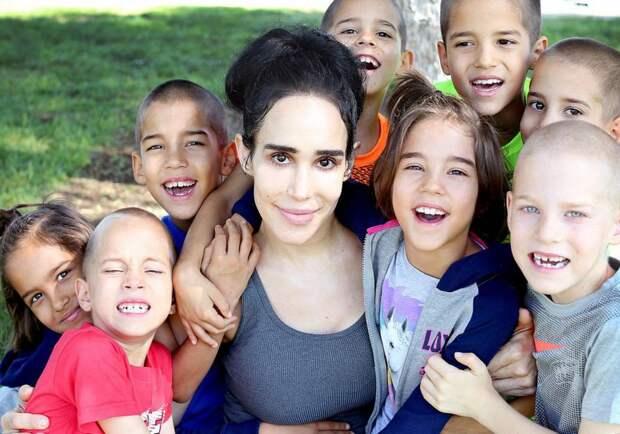 Как сегодня живет Надя Сулеман, мать 14 малышей, родившая восьмерняшек