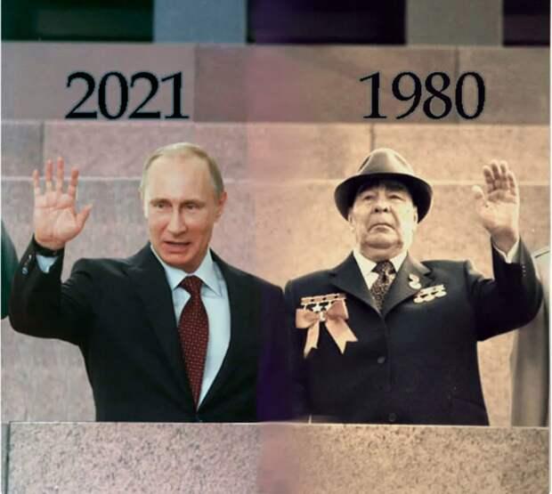 Экономисты подсчитали, что по темпам роста экономики, Россия уже уступила даже СССР времён застоя