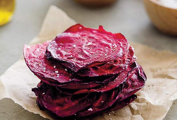 Овощные чипсы: вкусная закуска из духовки