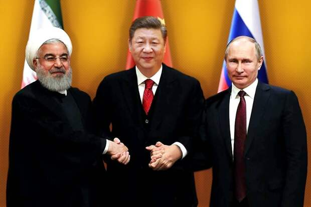К тройственному союзу Москвы, Пекина и Тегерана