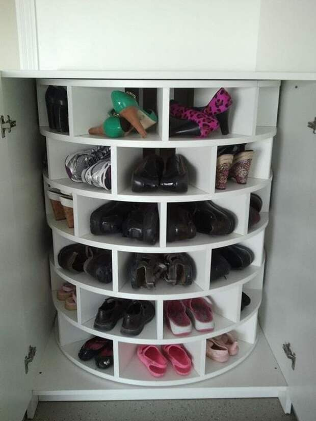 Идеи компактного хранения обуви, которые вы полюбите
