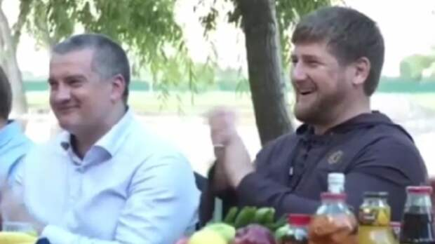Аксенов подарил Кадырову детский лагерь в Алуште