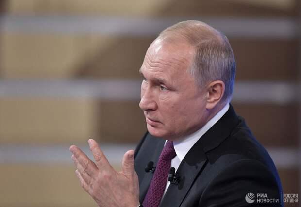 В.Путин ответил на вопрос о выборе преемника
