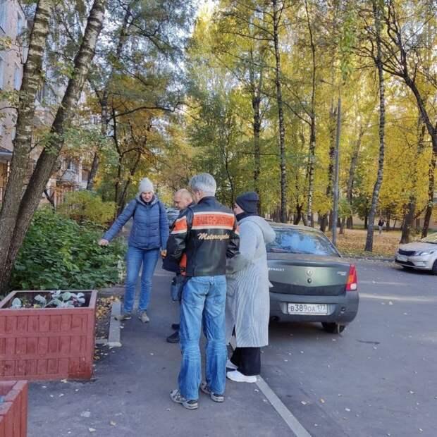 Руководство управы осмотрело дворы на Ленинградском шоссе