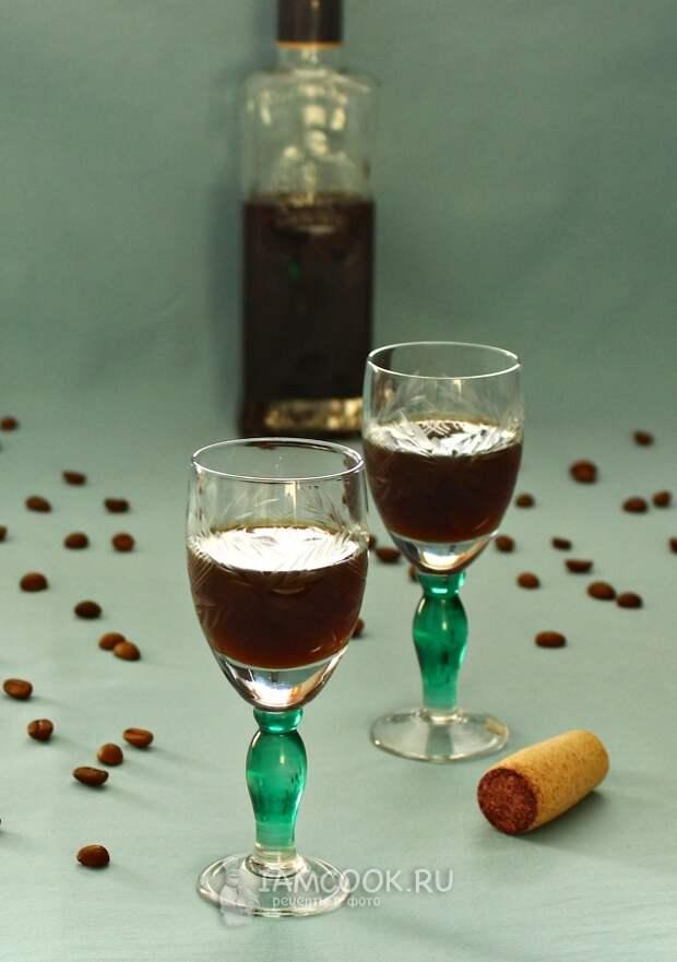 Спиртные напитки. Кофейная наливка