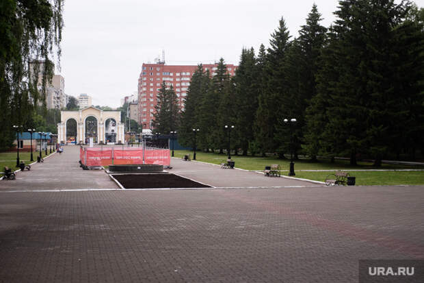 РЖД разрешили застроить кусок главного парка Екатеринбурга