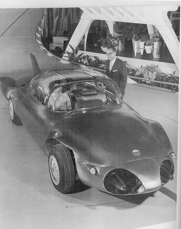 """Огненная птичка.Концепт-кар """"GM Firebird II"""" авто, факты"""
