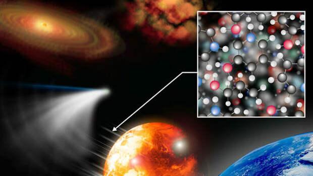 Предвестница жизни? На комете нашли сложную органику