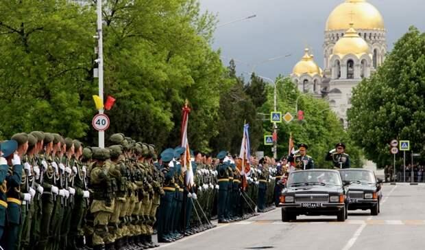 ВНовочеркасске увидеть парад вчесть Дня Победы пришли 3 тысячи человек
