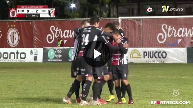 Hercílio Luz 4 x 3 Joinville - Melhores Momentos - 11ª rodada - Campeonato Catarinense (21/04/2021)