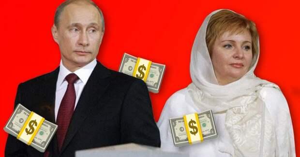Бывшая Путина живет на иностранные деньги. Так вот зачем нам закон об инагентах!