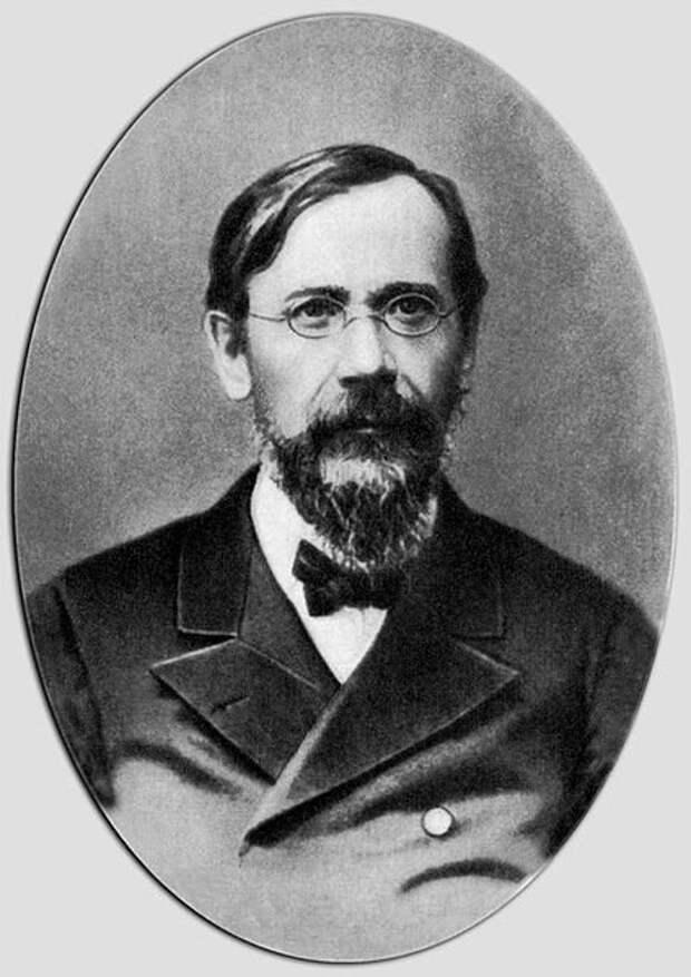 Василий Осипович Ключевский. Фотография 1893 года