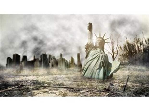 Конец империи США, новое прочтение Оруэлла и дешёвое золото