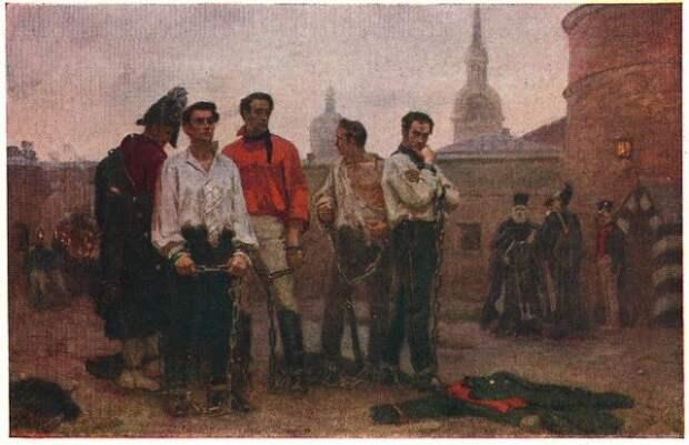 Декабристы. Картина Семена Левенкова. Около 1950 года