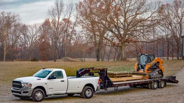 Новый грузовой пикап Dodge Ram 3500HD - с максимальным крутящим моментом 1354 Нм.