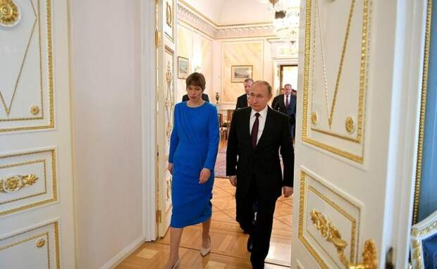 Президент Эстонии оконфузилась из-за бутылки шампанского россия, прибалтика, шампанское