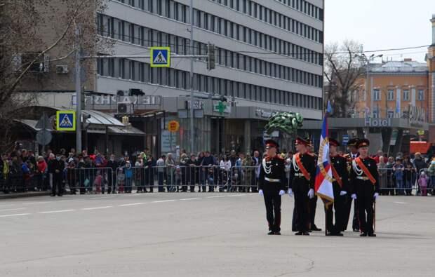 Иркутск отпраздновал День Победы. Фоторепортаж