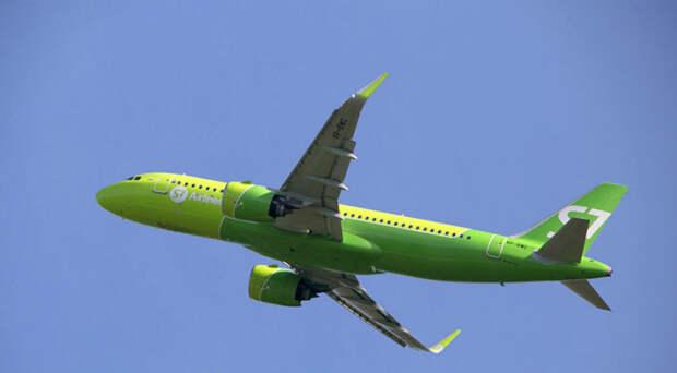S7 Airlines начинает выполнять новый рейс из Сибири на Юг России