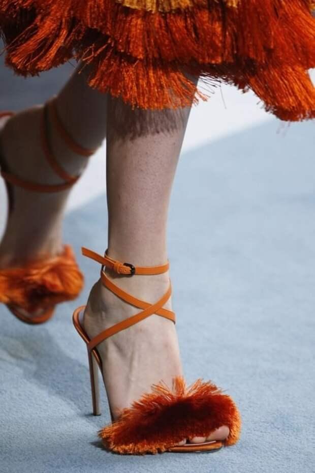 модные тенденции женской обуви весна лето 2018