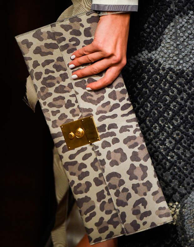 Сумка с леопардовым принтом 2019
