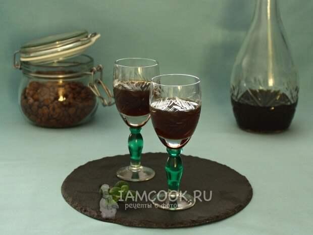 Кофейная наливка — рецепт с фото пошагово
