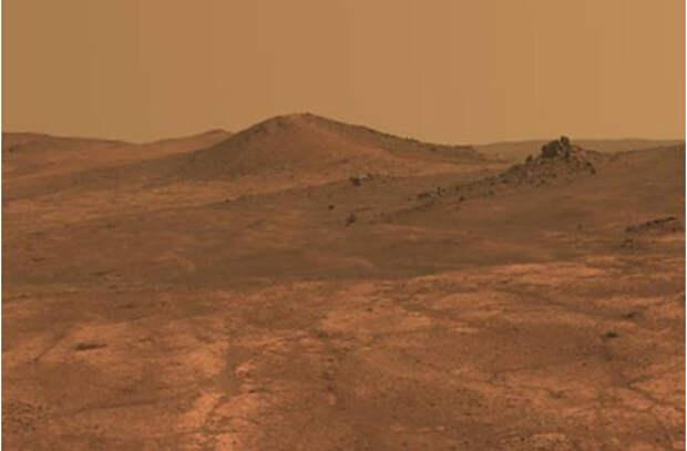 Марсианский «бетон» предложили делать на крови космонавтов