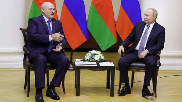 В Кремле объявили завершение переговоров Путина и Лукашенко
