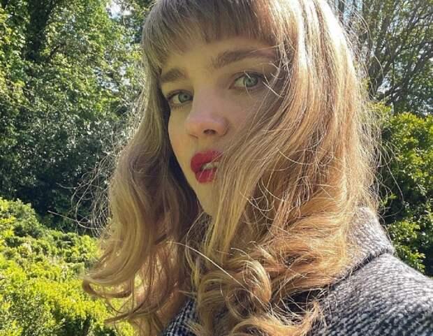 Наталья Водянова сменила имидж и стала похожа на школьницу