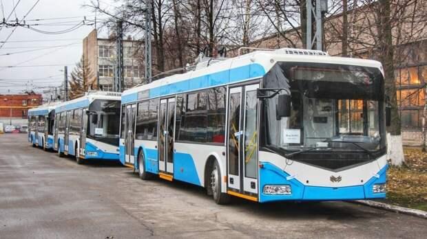 Незаконная акция стала причиной изменения маршрута троллейбусов в Петербурге