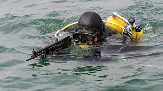 Пловцы Черноморского флота ликвидировали «подводных диверсантов»