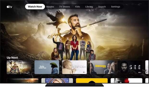 Apple TV показывает некоторым пользователям немое кино