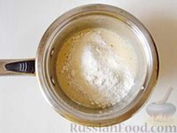 Фото приготовления рецепта: Медовик апельсиновый - шаг №5