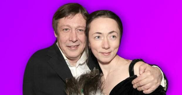 Жена Михаила Ефремова рассказала о запоях мужа перед аварией