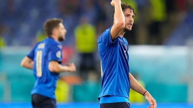 Локателли признан лучшим игроком матча Италия— Швейцария