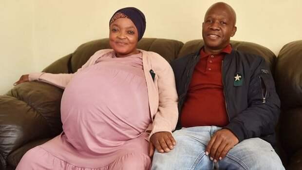 Женщина из ЮАР родила сразу 10 детей и установила мировой рекорд