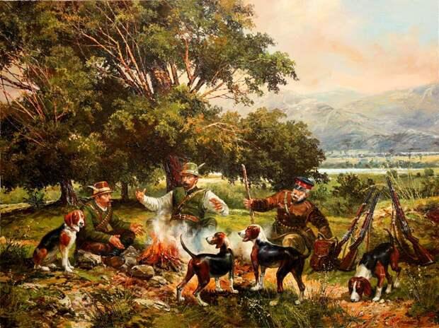 Болгарский колорит в работах художника Васила Горанова.