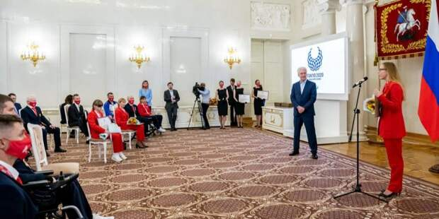 Собянин поздравил москвичей – чемпионов и призеров Паралимпиады в Токио